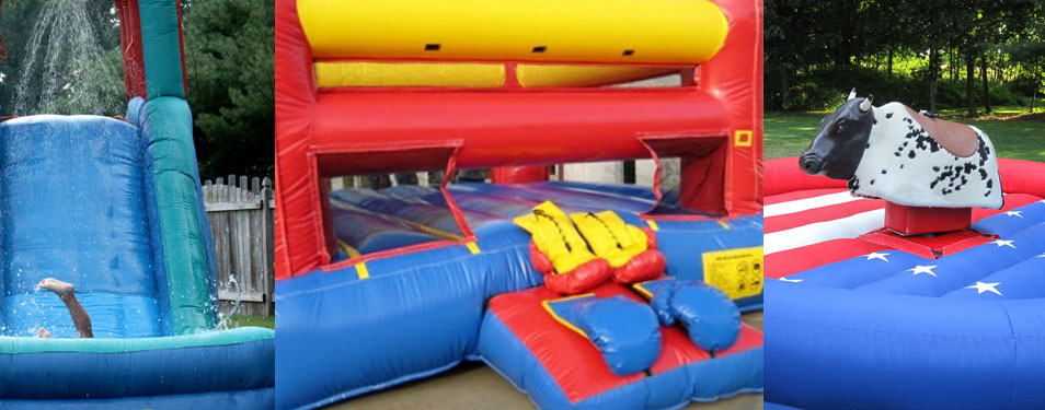 Waterslide Boxing Mechanical Bulls